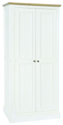 Rowico Lulworth White 2 Door Wardrobe
