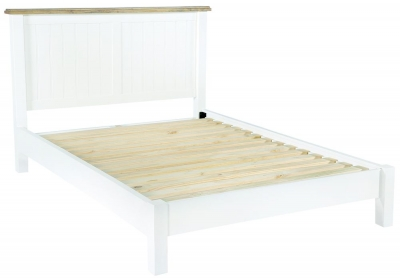 Rowico Lulworth White Bed Frame