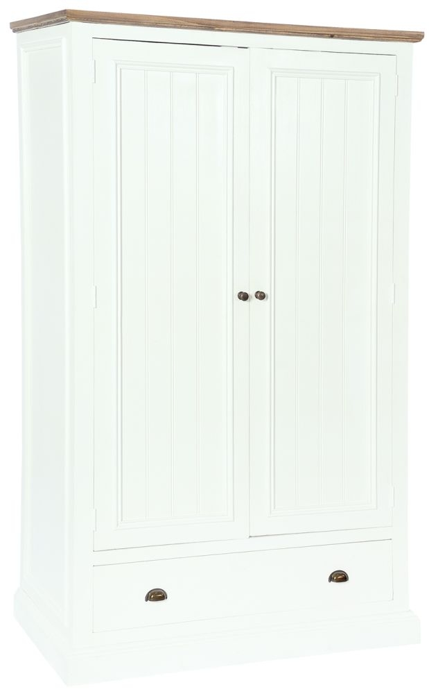 Rowico Lulworth 2 Door Wardrobe - White