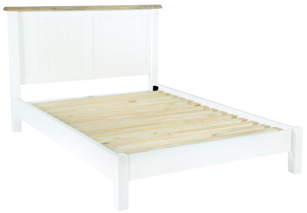 Rowico Lulworth Bed Frame - White