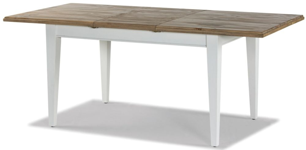 Rowico Lulworth Extending Dining Table - White