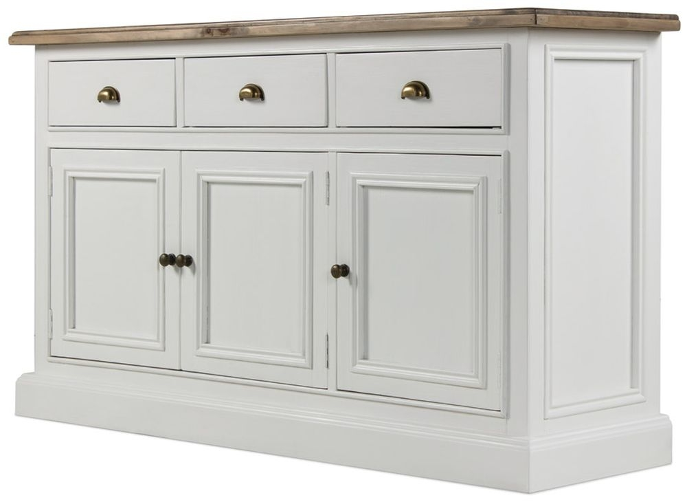 Rowico Lulworth Large Sideboard - White