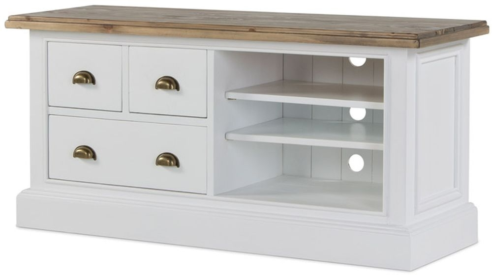 Rowico Lulworth TV Unit - White