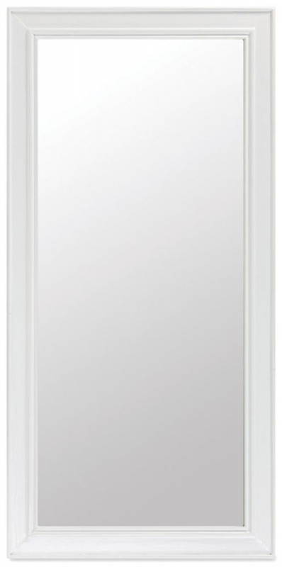 Rowico Lulworth White Rectangular Wall Mirror - 70cm x 140cm