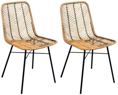 Rowico Maya Rattan Honey Dining Chair (Pair)