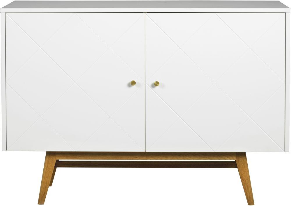 Rowico Monterey White and Oak Sideboard