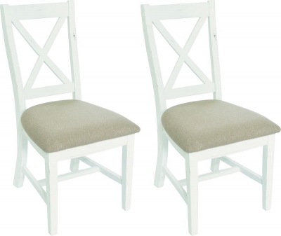 Rowico Oxford Painted Dining Chair (Pair)