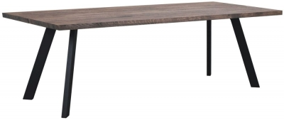 Rowico Picasso Dark 170cm Dining Table
