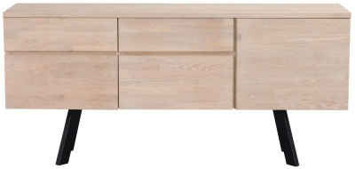 Rowico Picasso Natural 3 Drawer 2 Drawer Sideboard