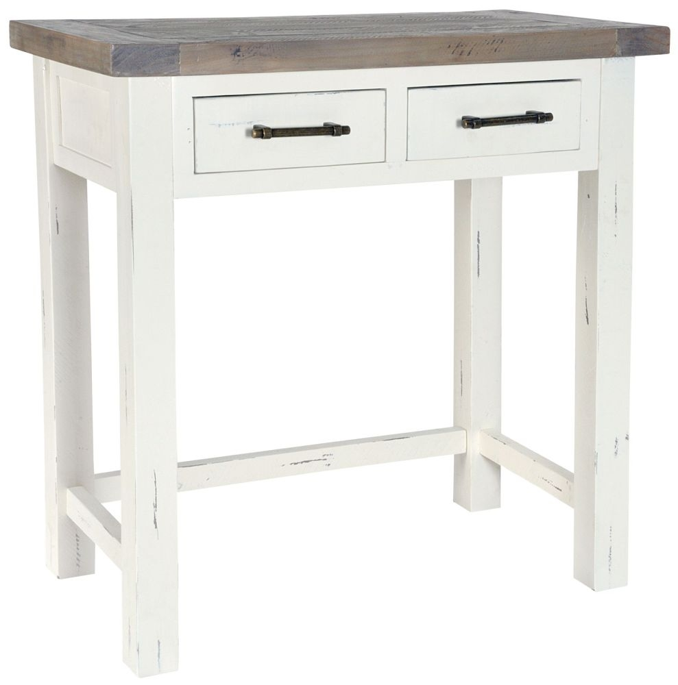 Rowico Purbeck Dressing Table - Distressed White