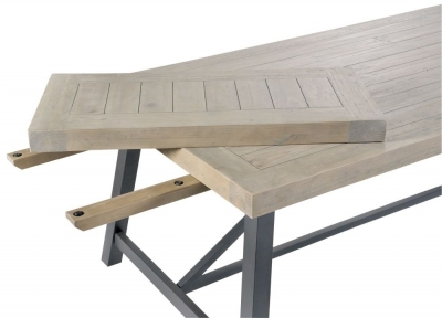 Clearance - Rowico Lowry Industrial Extension Leaf for Dining Table - New - E-724