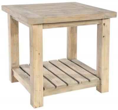 Rowico Saltash Reclaimed Pine Lamp Table