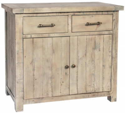 Rowico Saltash Reclaimed Pine 2 Door 2 Drawer Sideboard