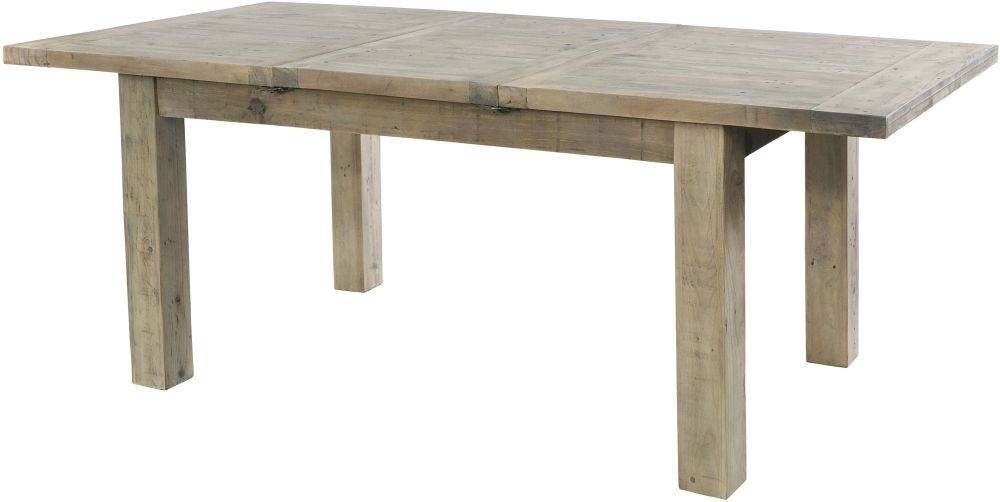 Rowico Saltash Large Extending Dining Table - Reclaimed Pine