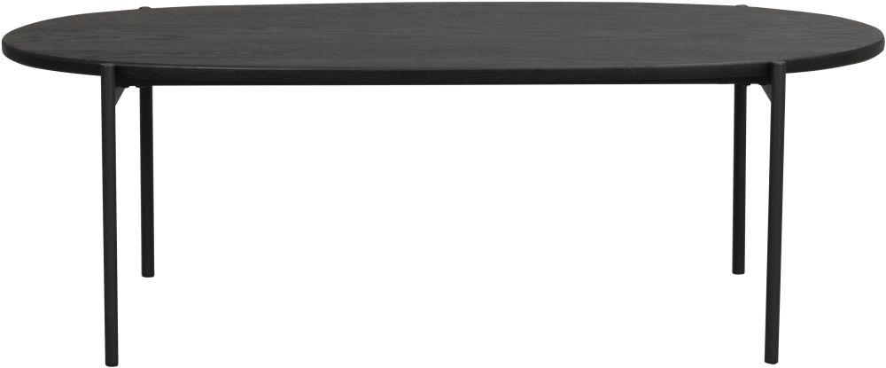 Rowico Skye Black Oval Coffee Table