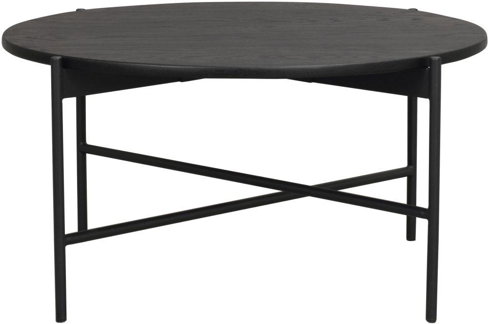 Rowico Skye Black Round Coffee Table
