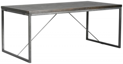 Rowico Tate Black Dining Table