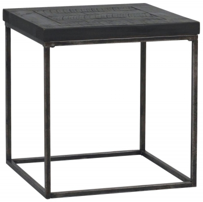 Rowico Tate Black Square Coffee Table