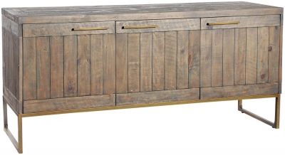 Rowico Tate Bronze 3 Door Sideboard