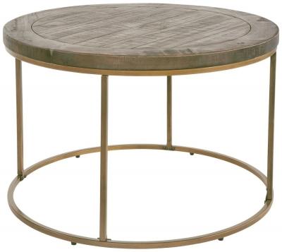 Rowico Tate Bronze Round Coffee Table
