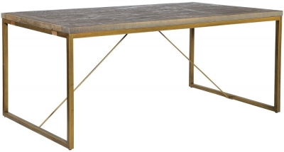 Rowico Tate Bronze Dining Table