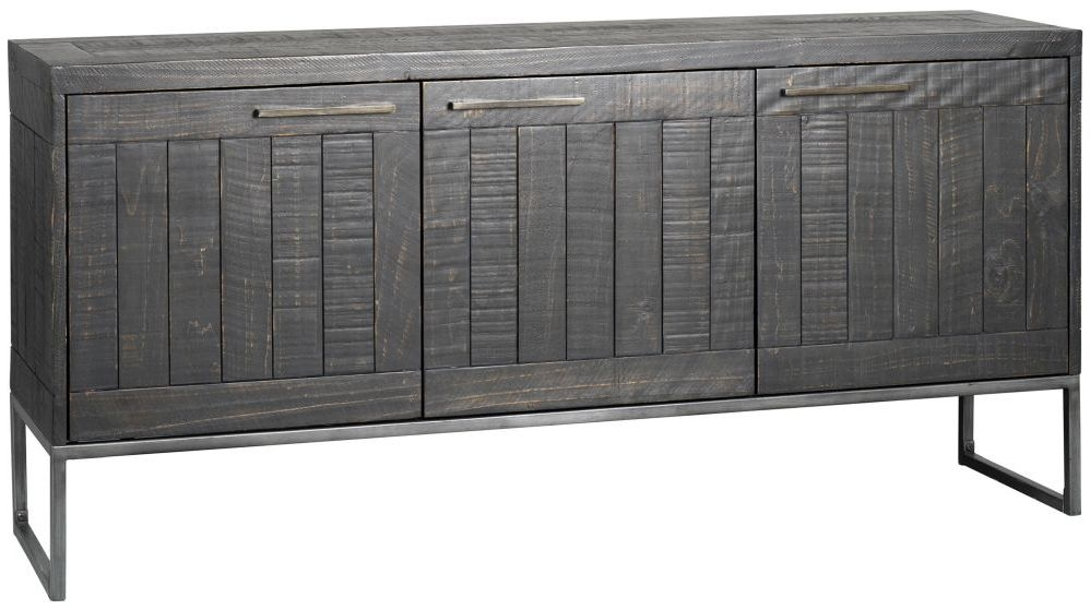 Rowico Tate Large Sideboard - Black