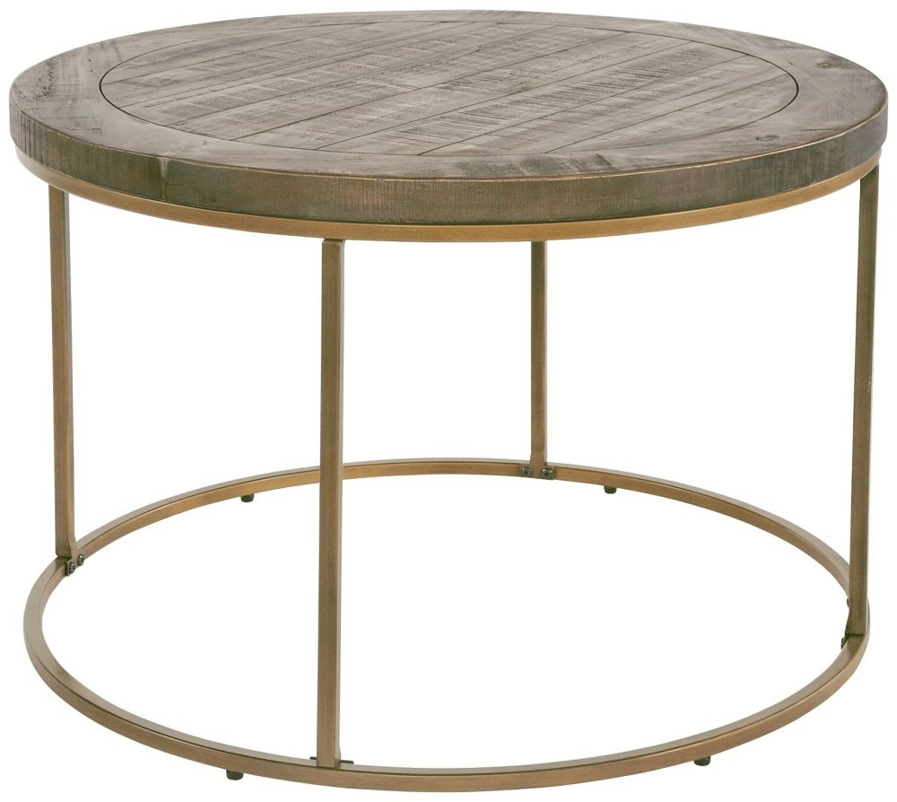 Rowico Tate Round Coffee Table - Bronze