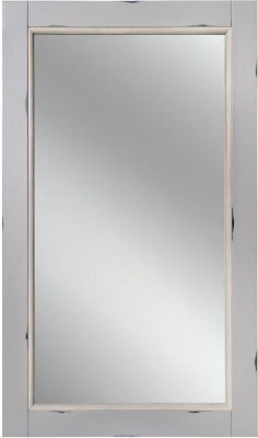 Rowico Warwick Grey Rectangular Wall Mirror - 120cm x 70cm