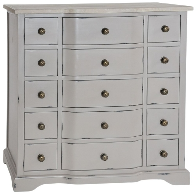 Rowico Warwick Grey Drawer Chest