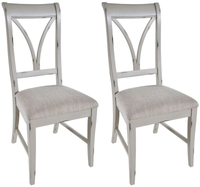 Rowico Warwick Grey Dining Chair (Pair)