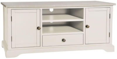 Rowico Warwick Ivory 2 Door 1 Drawer TV Cabinet