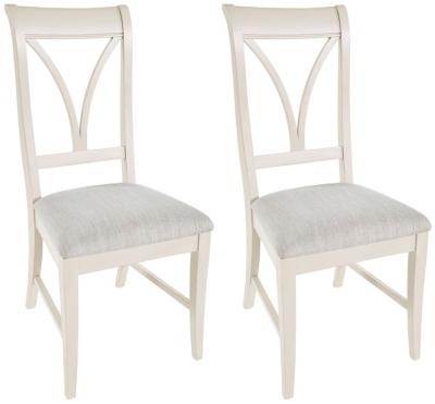 Rowico Warwick Ivory Dining Chair (Pair)