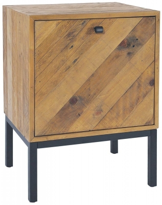 Rowico Windermere Parquet 1 Door Lamp Table