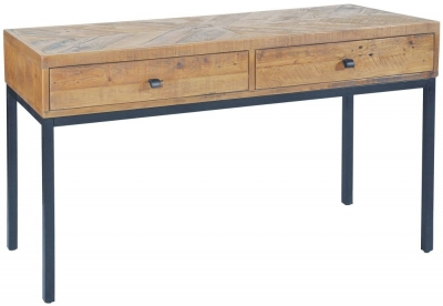 Rowico Windermere Parquet 2 Drawer Console Table