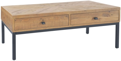 Rowico Windermere Parquet 2 Drawer Coffee Table