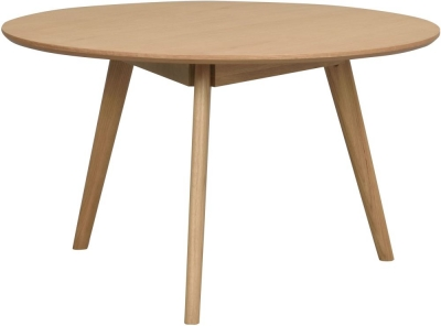 Rowico Yumi Oak Round Coffee Table