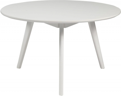 Rowico Yumi White Round Coffee Table