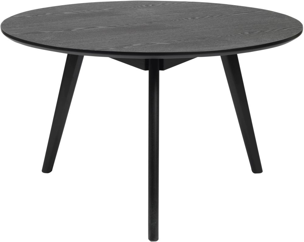 Rowico Yumi Black Round Coffee Table