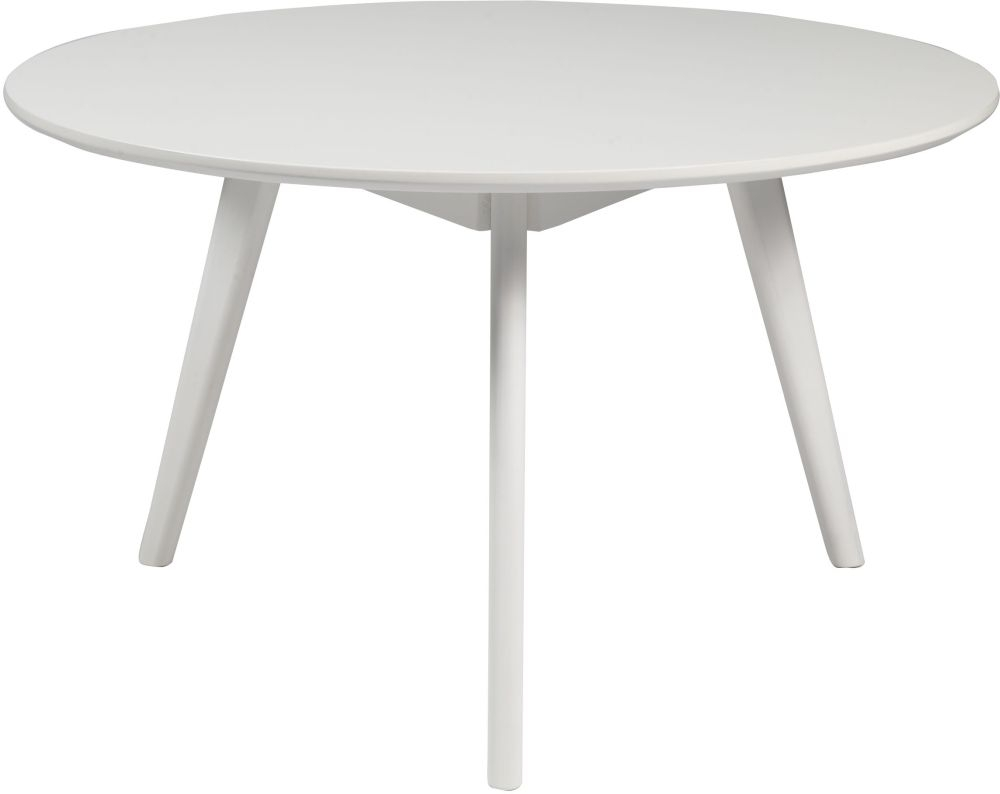 Rowico Yumi White Round Coffee Table
