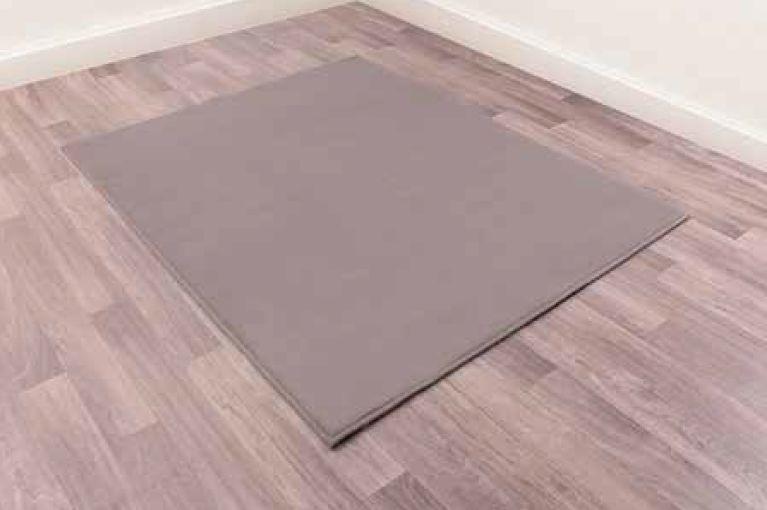 Modern Poly Moda Grey Polypropylene Rug