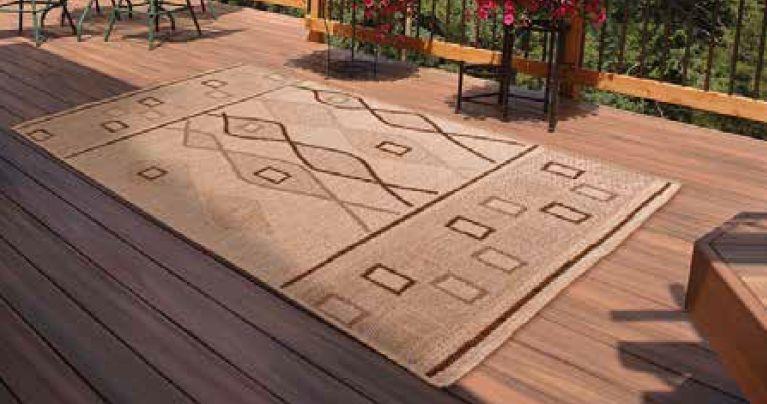 Outdoor Oasis Natural Polypropylene Rug