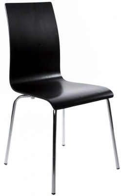 Lge Black Dining Chair