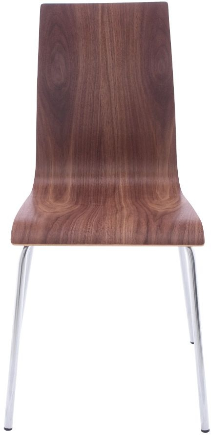 Product photograph showing Lge Walnut Dining Chair