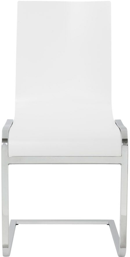 Vain White Dining Chair