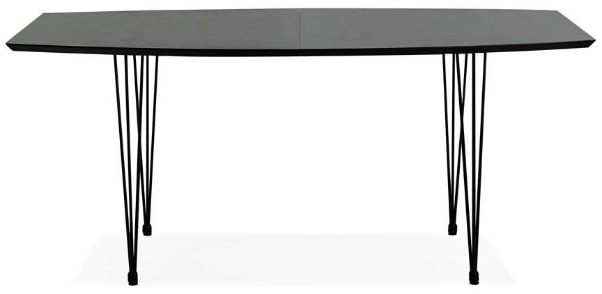 Louis Black Extending Dining Table