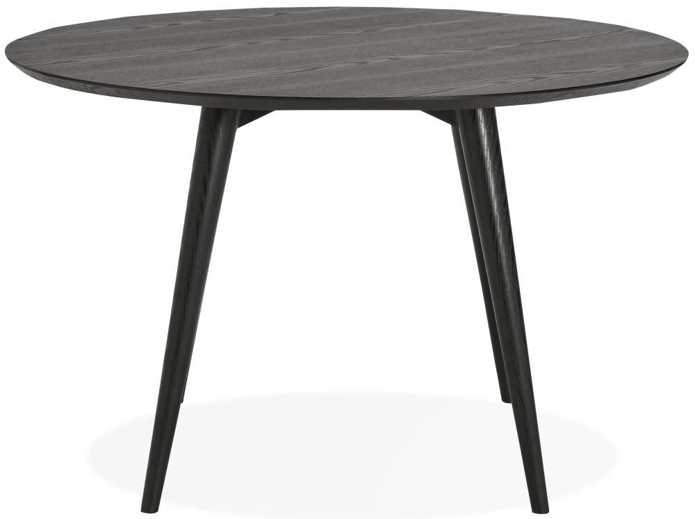 Rigel Black Round Dining Table