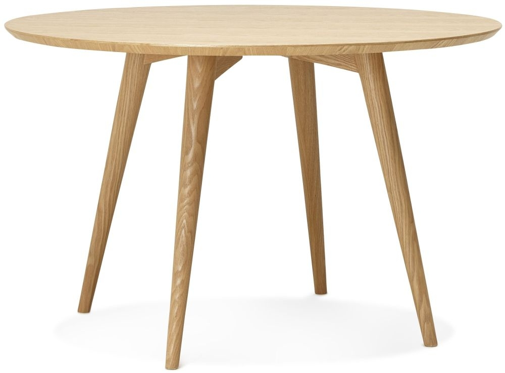 Rigel Natural Round Dining Table