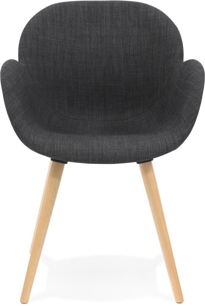 Amur Dark Grey Chair