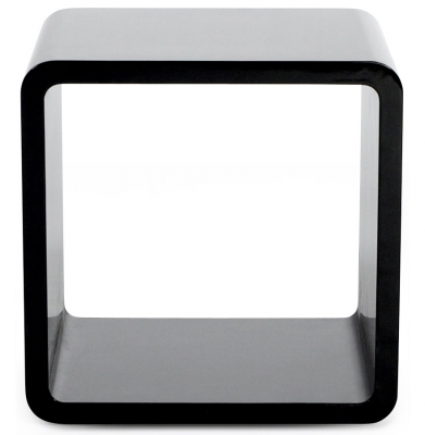 Balthild Black Cube Side Table