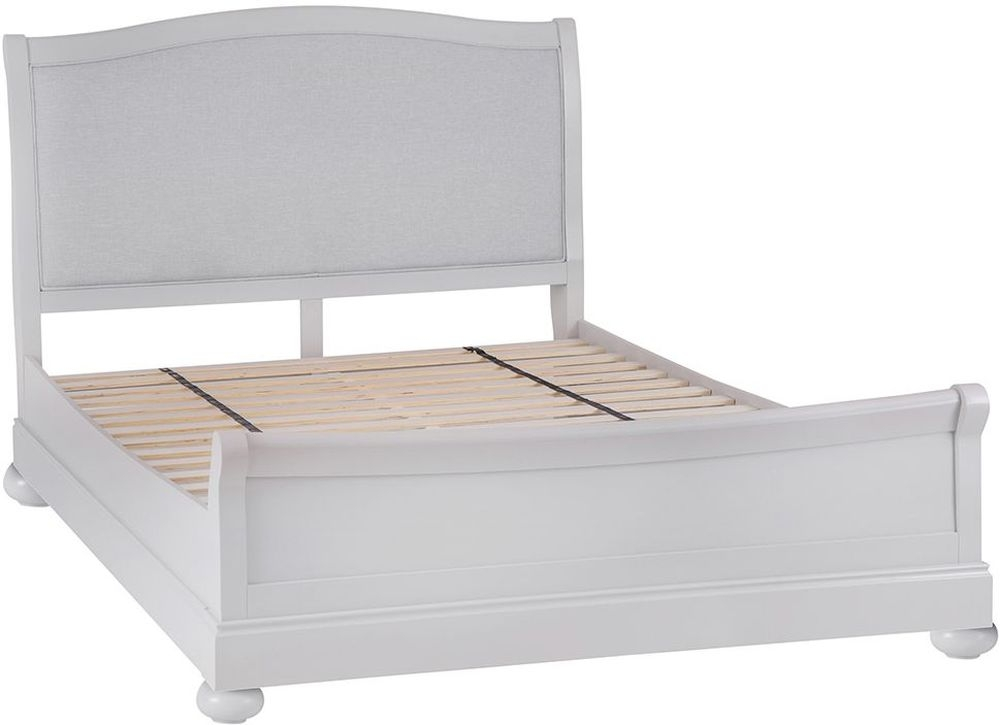 Annecy Bed - Soft Grey Painted